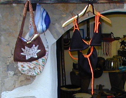 Borse e oggetti in stoffa